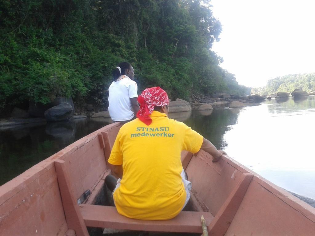 The Coppename river