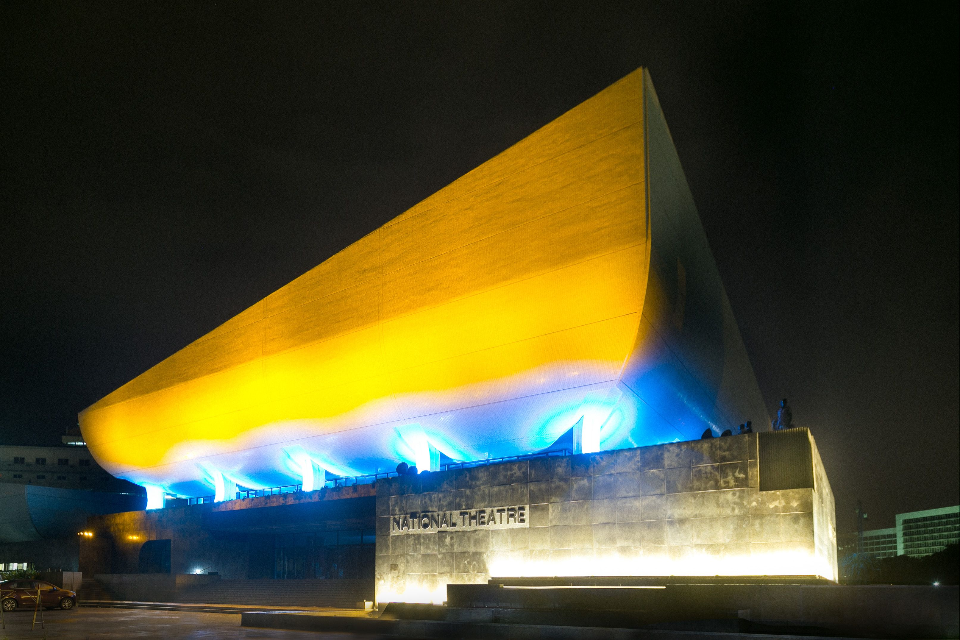 Philips invigorates iconic National Theatre in Accra with spectacular connected LED lighting