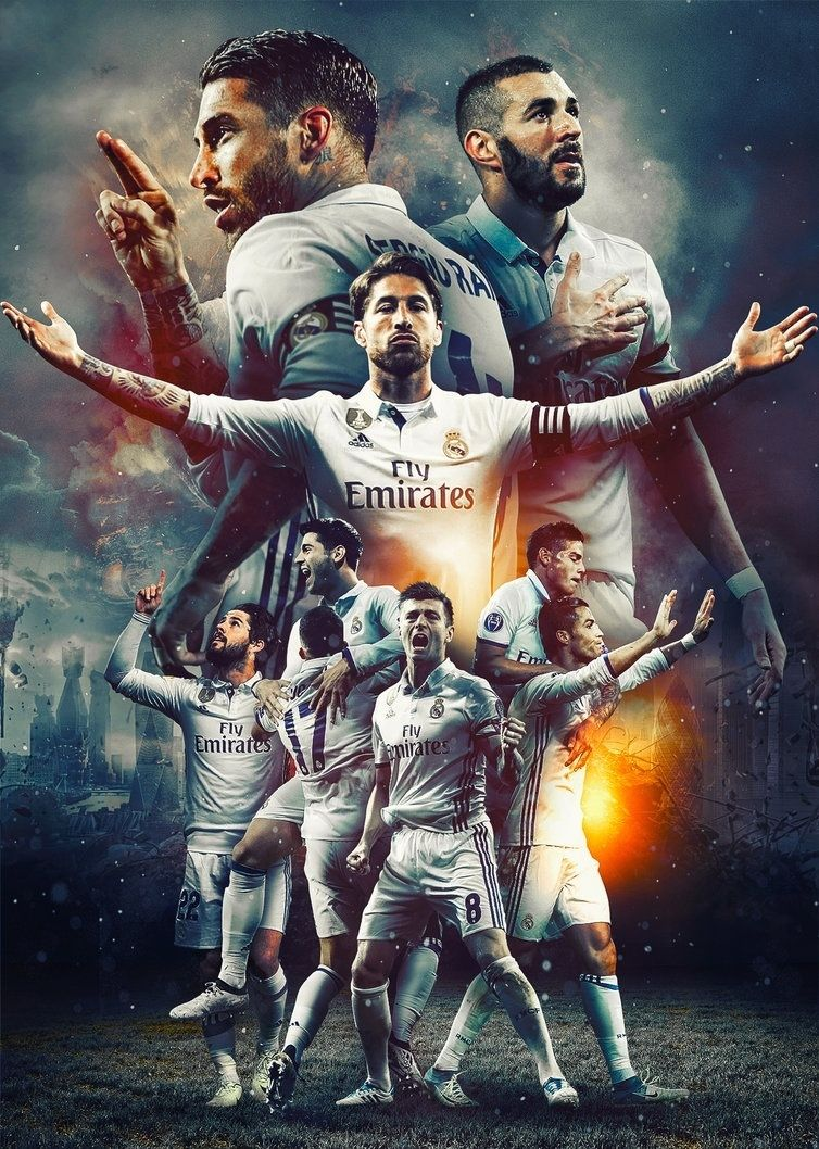 Football Wallpaper Real Madrid Madrid Pemain Sepak Bola