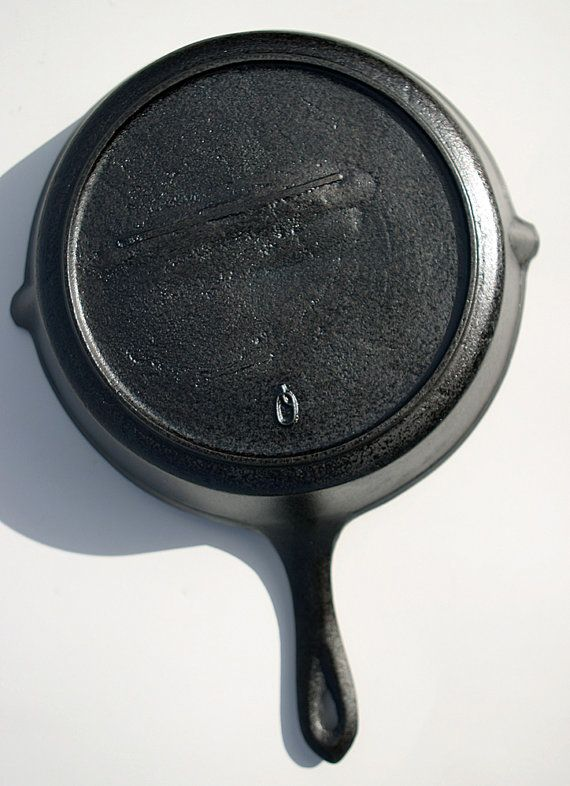 Antique Cast Iron Skillet No 7 With Heat By