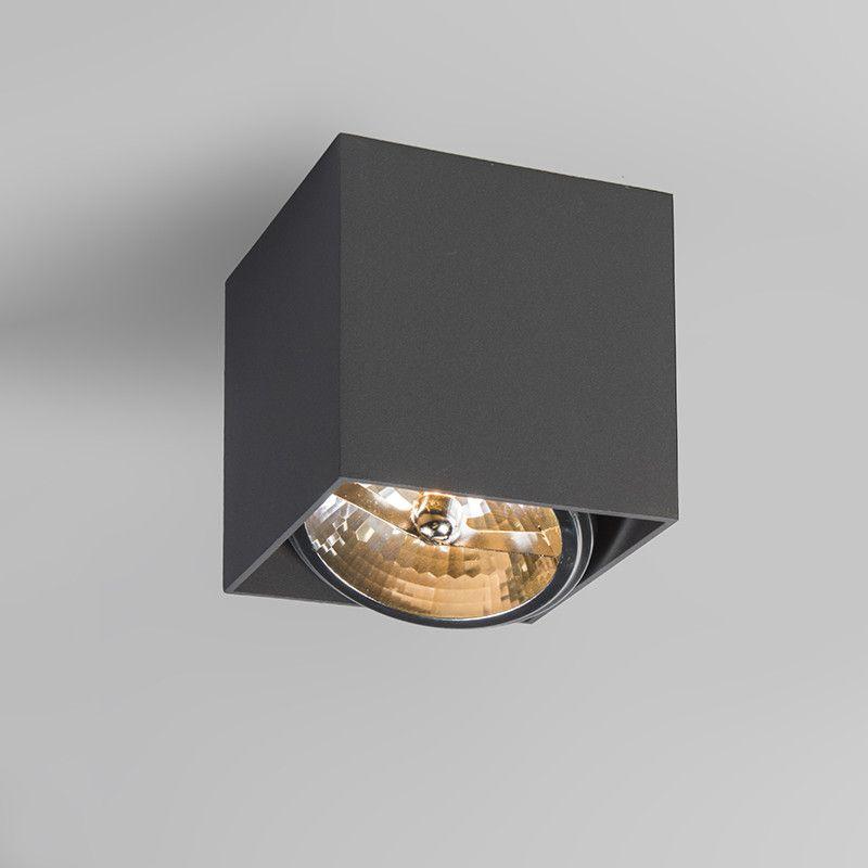 Spot Box S Schwarz | Led leuchten, Aufbaustrahler, Lampen spots