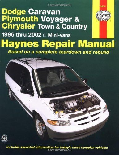 Dodge Caravan Plymouth Voyager Chrysler Town Country 1996