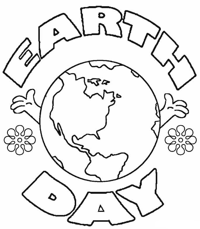 Earth Day Coloring Pages | Earth, Kindergarten and Activities