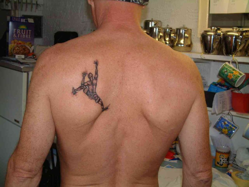 36++ Amazing Small back tattoos for men ideas