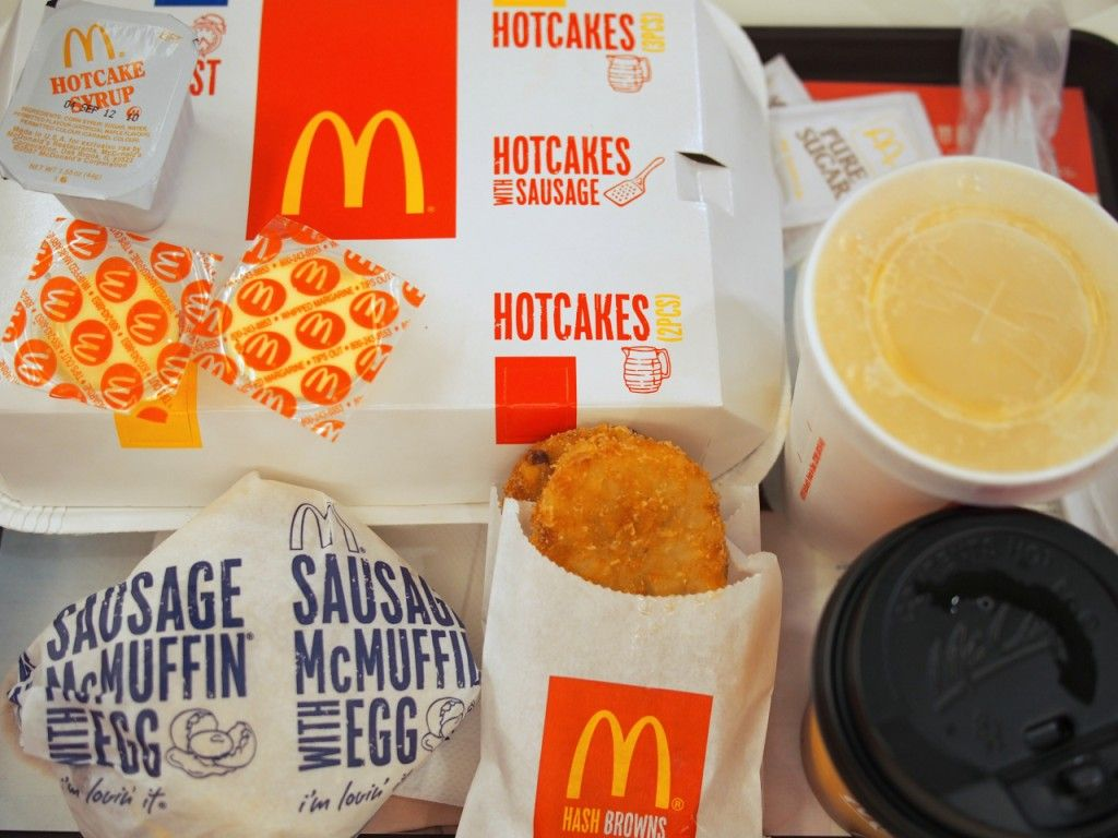 I do love me those Mickey D breakfasts. Lucky for me that they're served all day and all night long in Hong Kong - sometimes for twenty-awesome-four-hours.