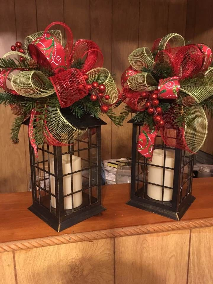 For The Fireplace Christmas Wreaths Christmas Lanterns