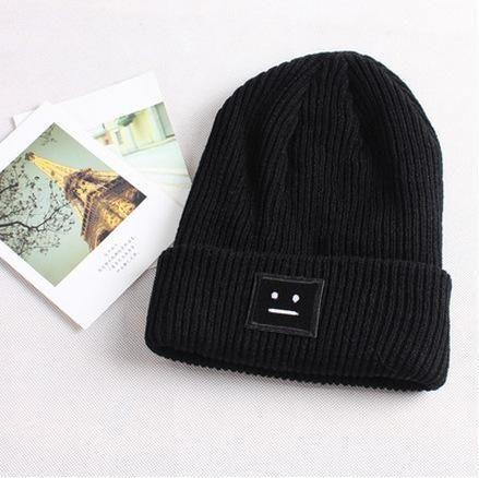 Knit Winter Wool Toppie Beanie  97cf2a231d37