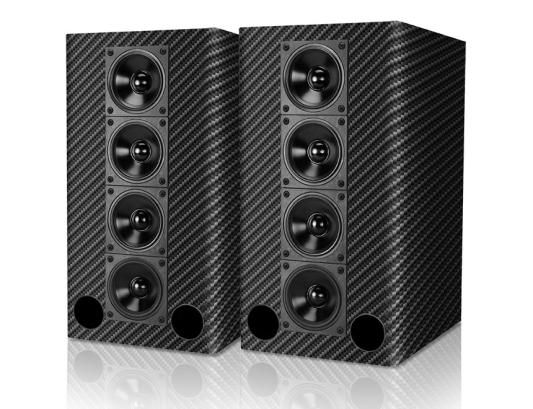 Skip the Bose array and get a pair of these. celestion-micromax-2 Carbon Fiber