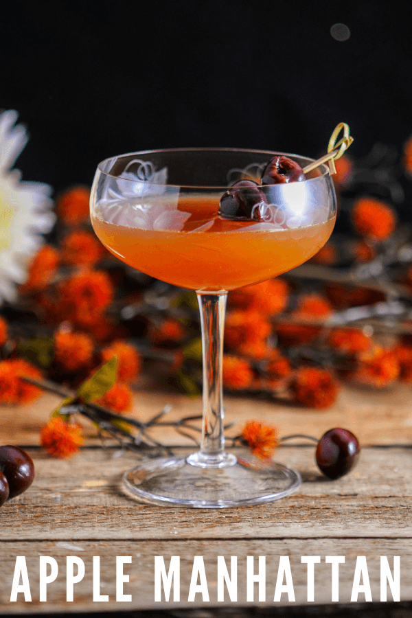 We will show you how to make a classic Manhattan. But, this one is a variation in flavors. This is the best fall Manhattan from Gastronomblog, and is so easy!