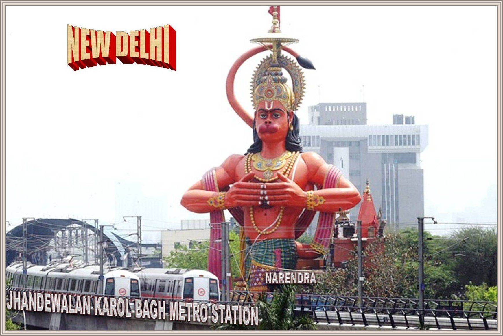 108 Feet Height Sky High Tallest Statue Of Lord Hanumanji Is