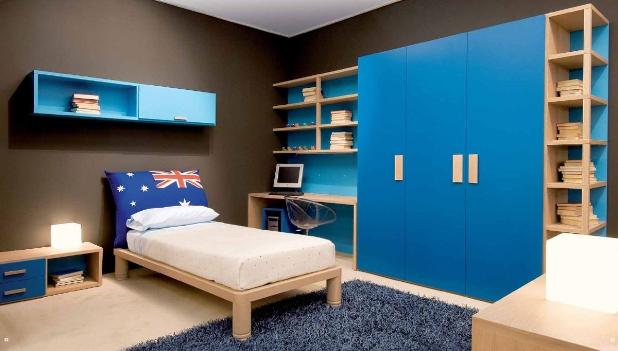Bedroom Ideas For Teenage Guys With Small Rooms Boys Bedrooms