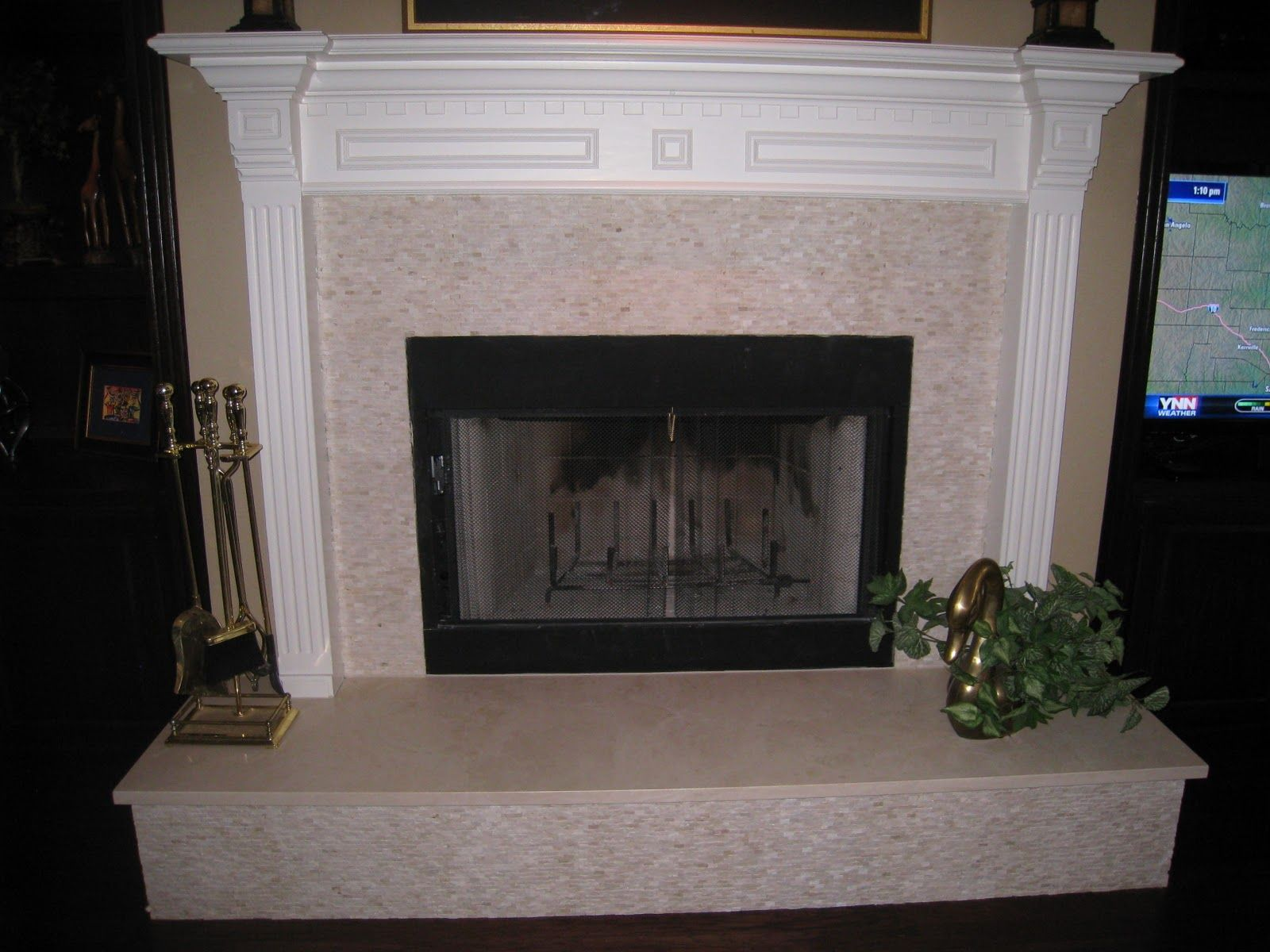 Tile Fireplace Designs Tile From Diamond Tech With A