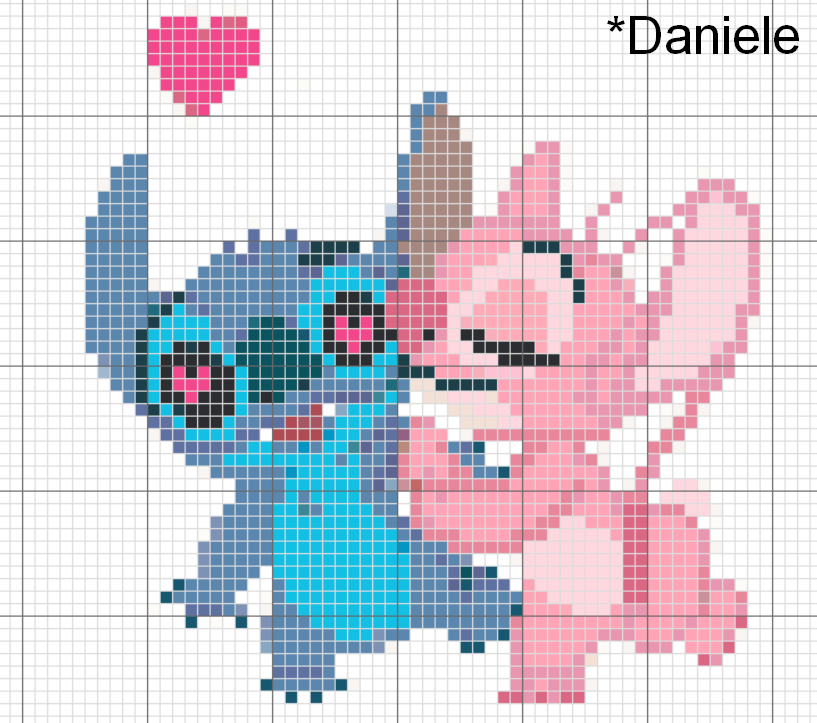 Stitch Lelo Stitch Cross Stitch Animals Cross Stitch