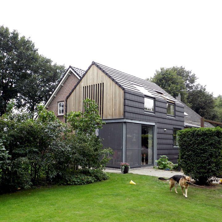 Moderne aanbouw van hooft architecten houses jaren 30 huis pinterest extensions - Veranda modern huis ...