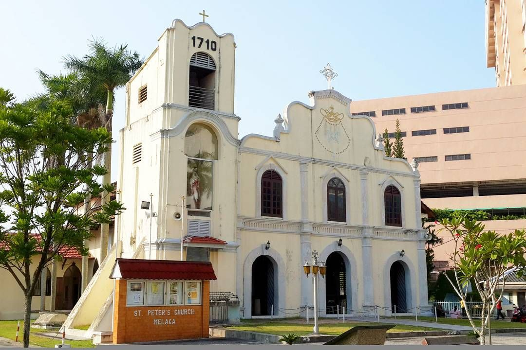 Built in 1710 the St Peter's Church in Melaka is the oldest Catholic church in Malaysia.