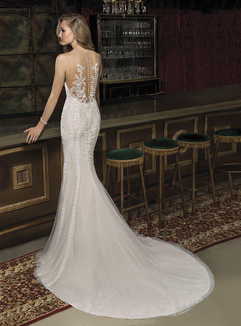 Vestidos de novia semi formales