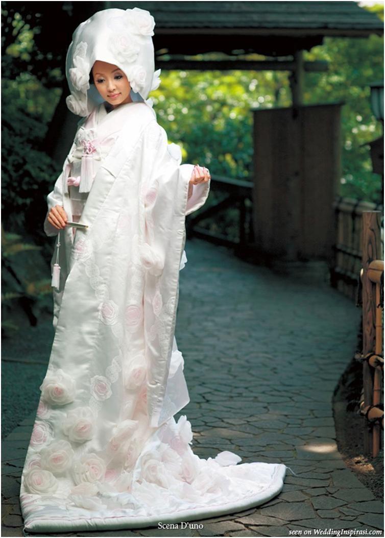Gorgeous White Kimono Gown | Wedding dresses | Pinterest ...
