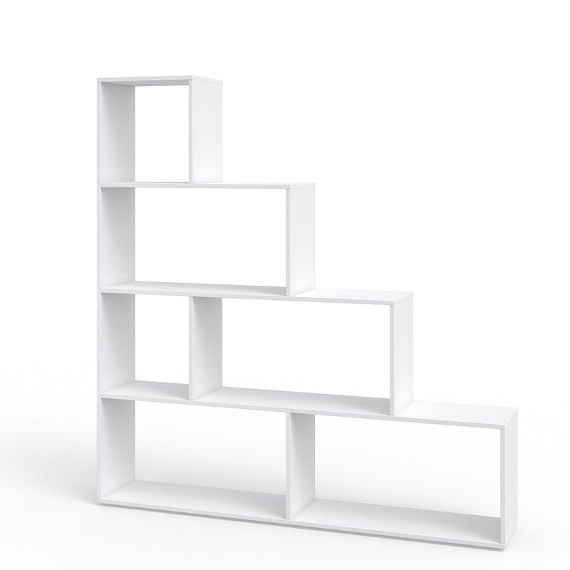 17 Stories Verrill Bookcase Reviews Wayfair Co Uk In 2020 Bookcase Large Shelves Small Shelves