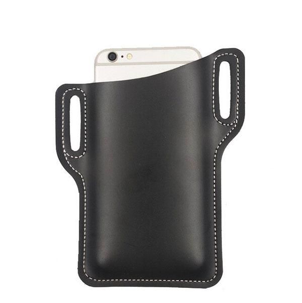Apple iPhone 12 - Smartphone Protective Sleeve Belt Phone Cover, Black