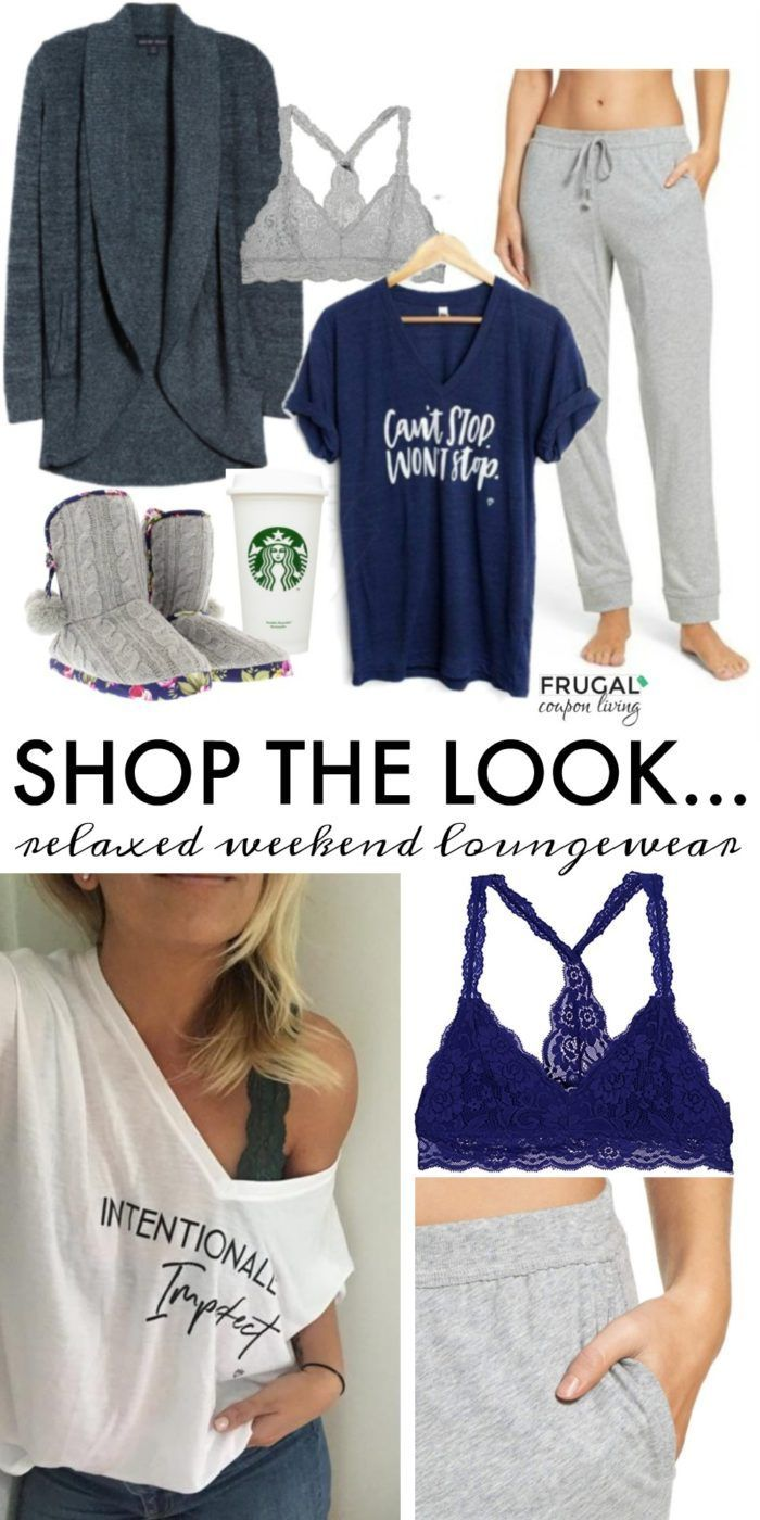 a3f88cbdeec2 It s another Frugal Fashion Friday and this time we are bringing a fun  relaxed weekend loungewear outfit. Clothing that is comfy