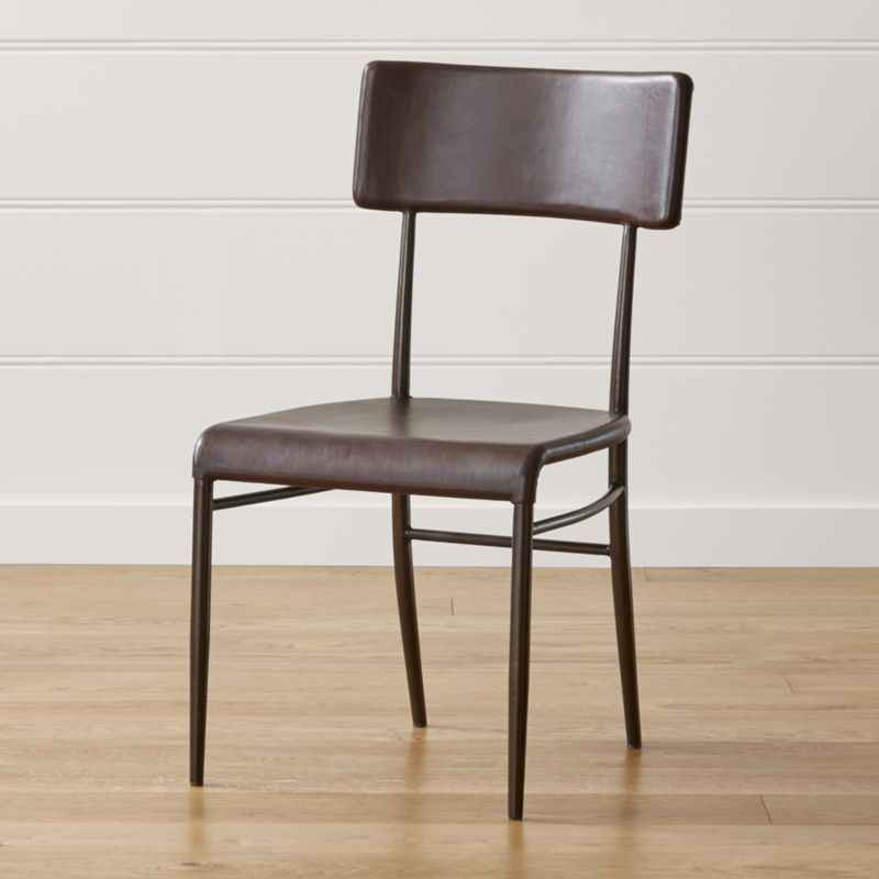 Shop Valentina Leather Dining Chair More Than Meets The Eye