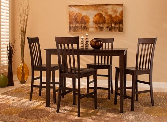 52nd Street 5 Pc Counter Height Dining Set Counter Height