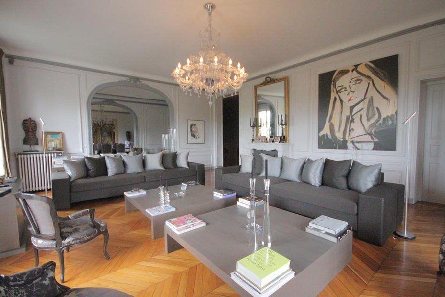 aménagement déco appartement haussmannien | Paris : L\'appartement ...
