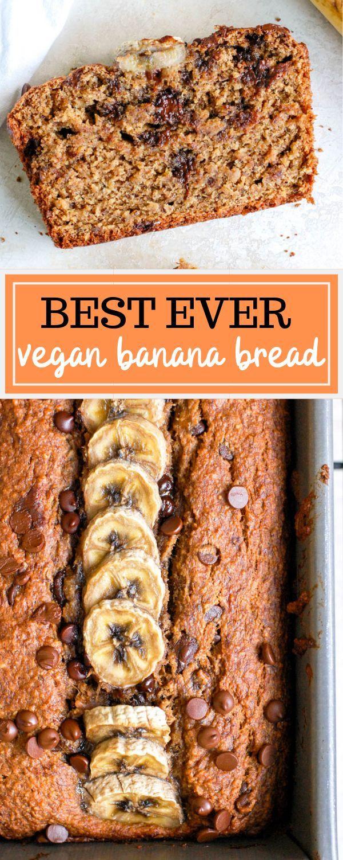 Vegan Banana Bread Gluten Free Erin Lives Whole Recipe Vegan Banana Bread Gluten Free Banana Bread Vegan Banana Bread Recipe
