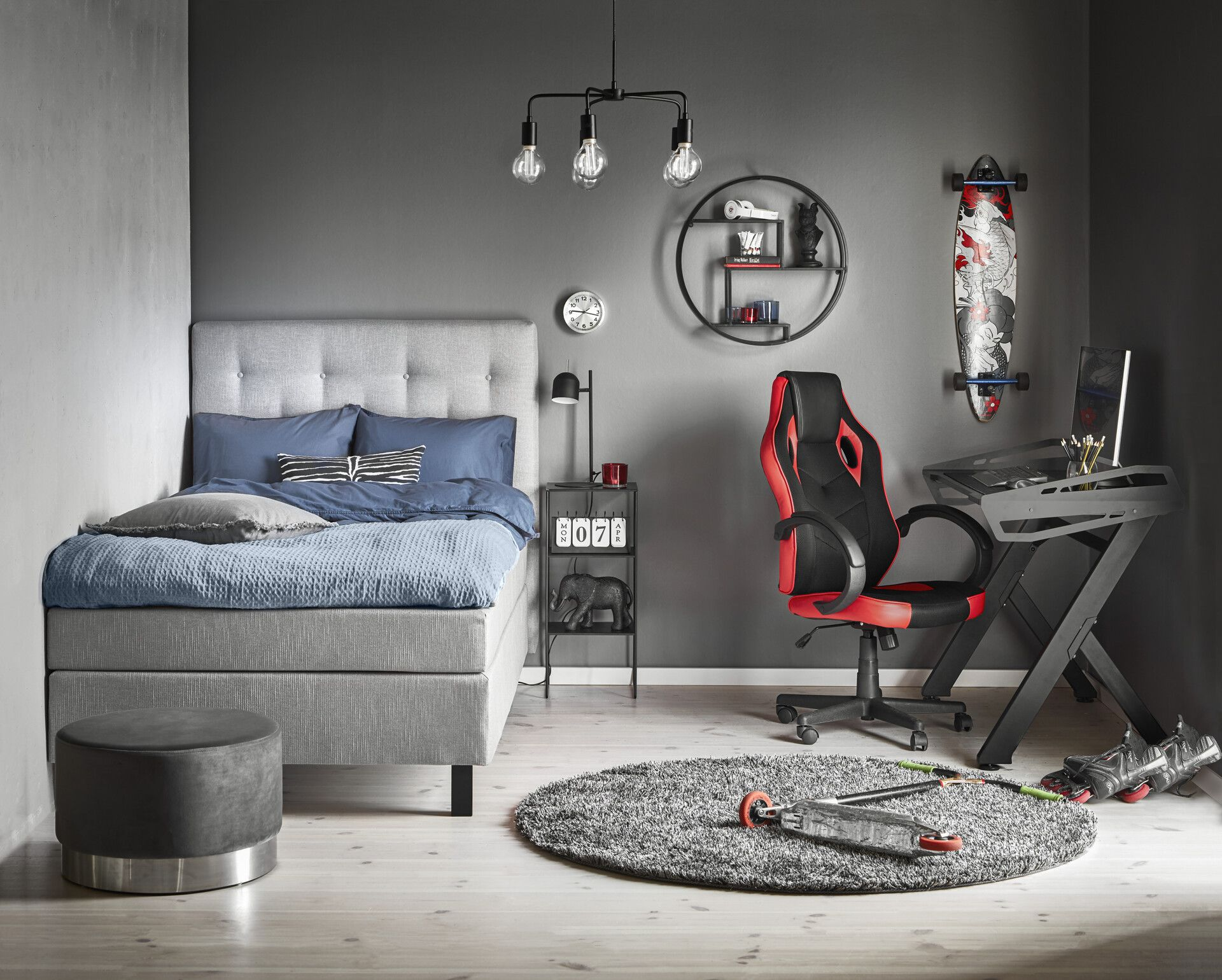 Alex Sängbord | Mio i 2020 | Sängbord, Sovrum, Pisa