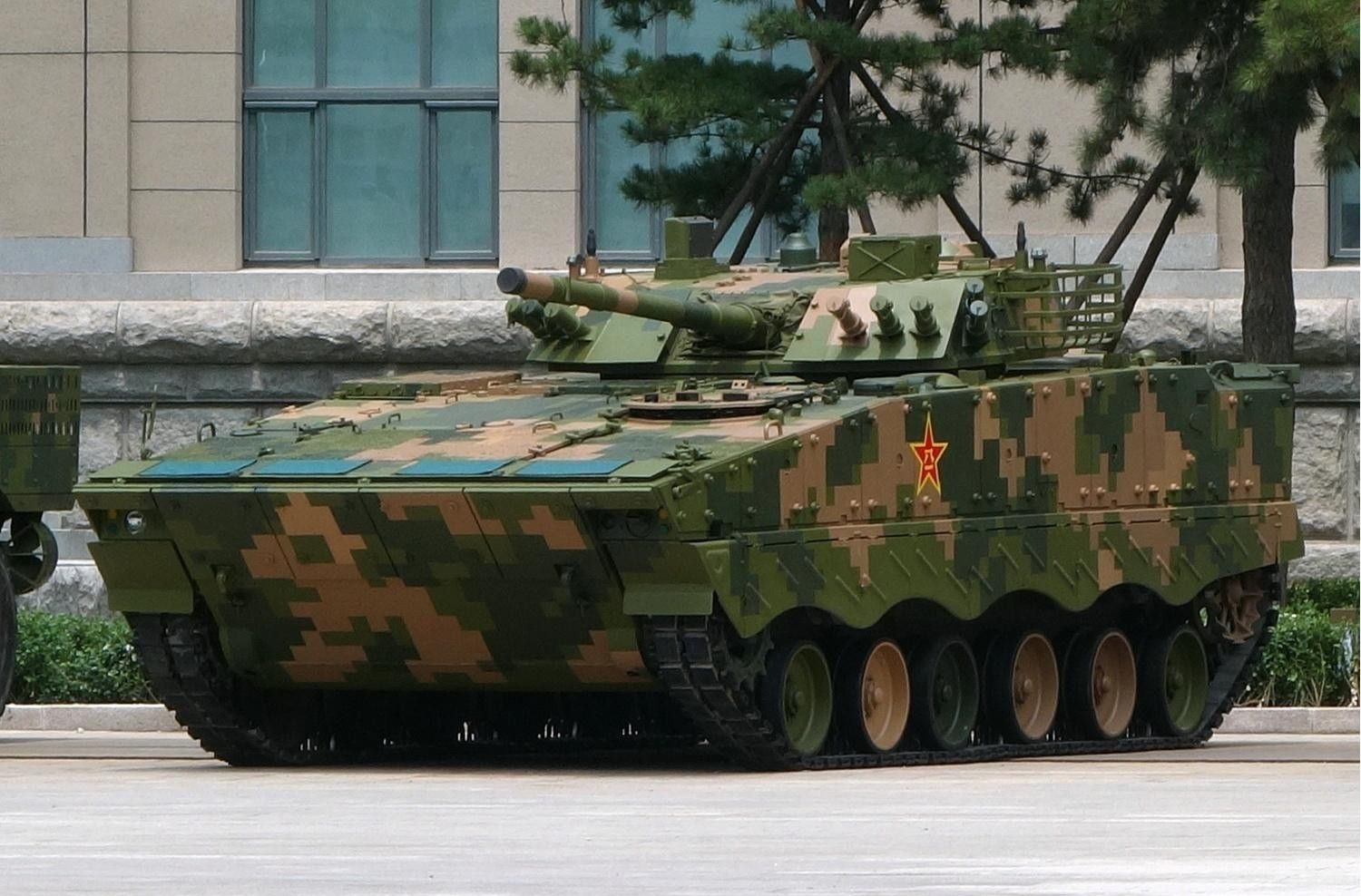 zbd 04 infantry fighting vehicle - HD 1500×988