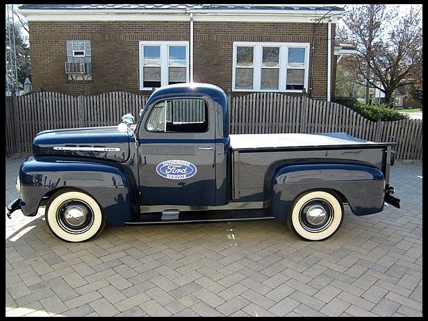1951 Ford F1 Pickup Completely Restored No Rat Here