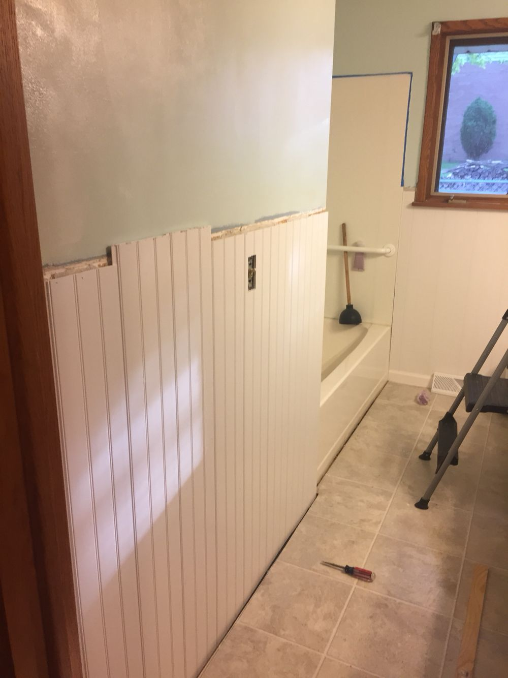 Walls Received Two Coats Of Behr Ultra Melting Moment This Paint Is Great For The Extra Moisture A Bathroom