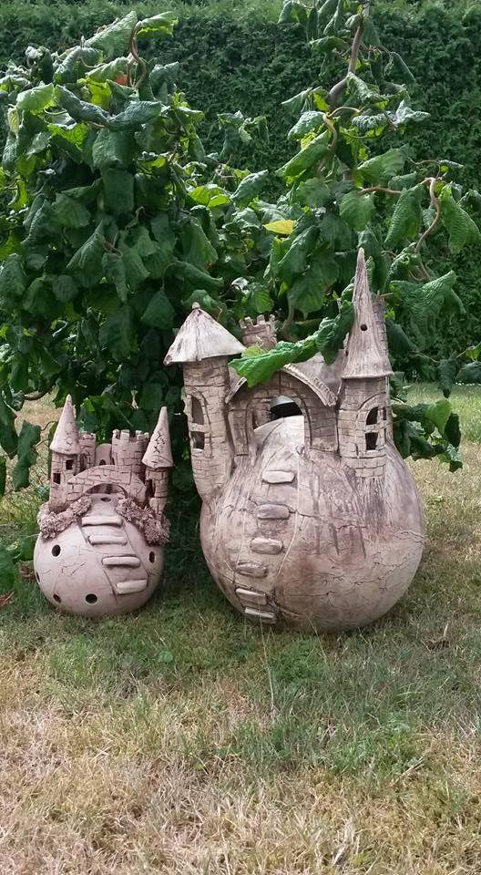 Wer da wohl wohnt? :D | keramika ,modurit | Pinterest | Keramik ...