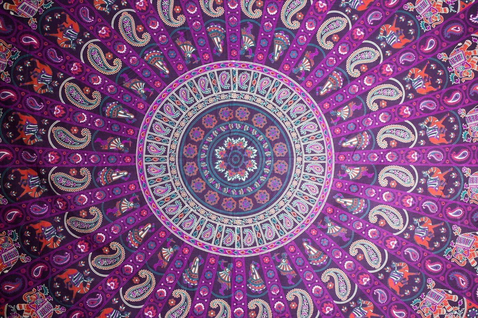 Ghoomar Large Tapestry Mandala ThrowMandala Ghoomar