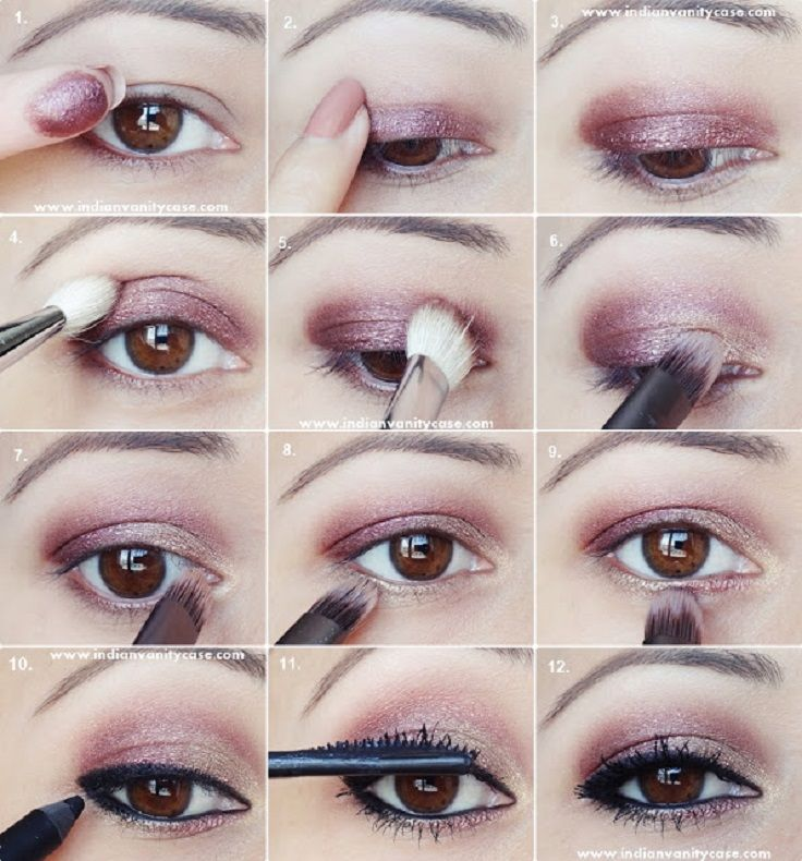 The rule for hooded eyes stands that you should use only mat colors, and shouldn't use shimmery colors, but of course this is a rule that you can absolutely ...