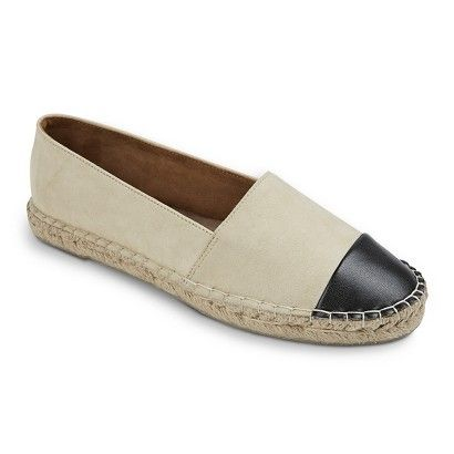 4cc42b697722 colorblock cap toe (black and cream) espadrille flats (perfect for summer  and spring!)