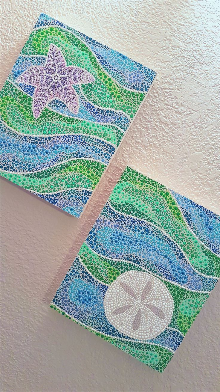 Photo of Ocean Dot Painting Project! – Living a Creative World