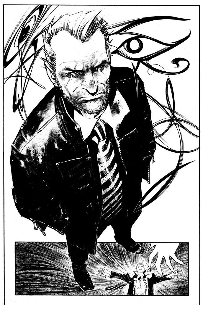 Sean Gordon Murphy did my favorite Hellblazer incarnation...such a talented dude.