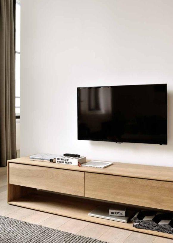 Ethnicraft Meuble Tv Nordic Http Www Ethnicraft Com Fr Product Oak Nordic Tv Cupboard 180cm Meuble Tele Design Meuble Meuble Tele