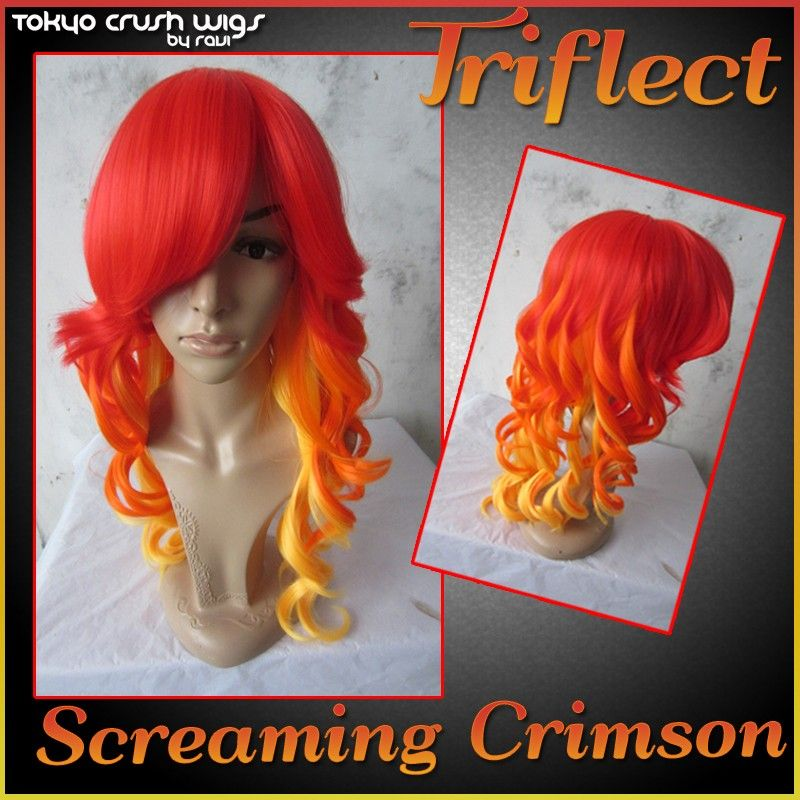 Cosplaywigsusa store triflect screaming crimson 5000