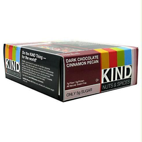 Kind Snacks Kind Bar Dark Chocolate Cinnamon Pecan - Gluten Free