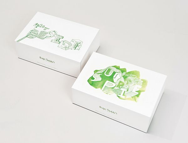 Cake Box Packaging design on Behance Меню Pinterest Packaging