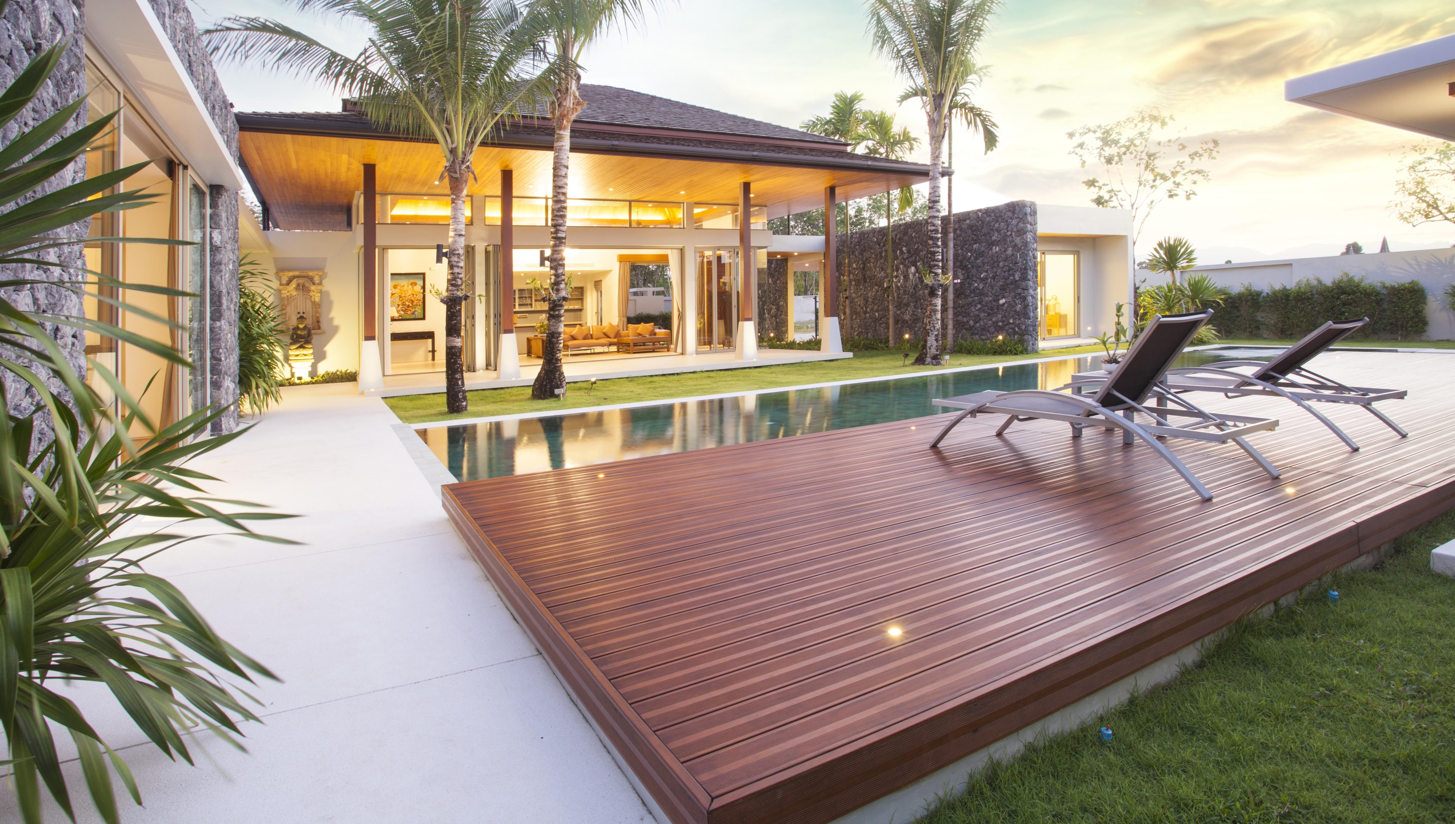 Sliding Deck Pool Covers Cost Designs Pros Cons Pool Decks Pool Cover Decks Backyard