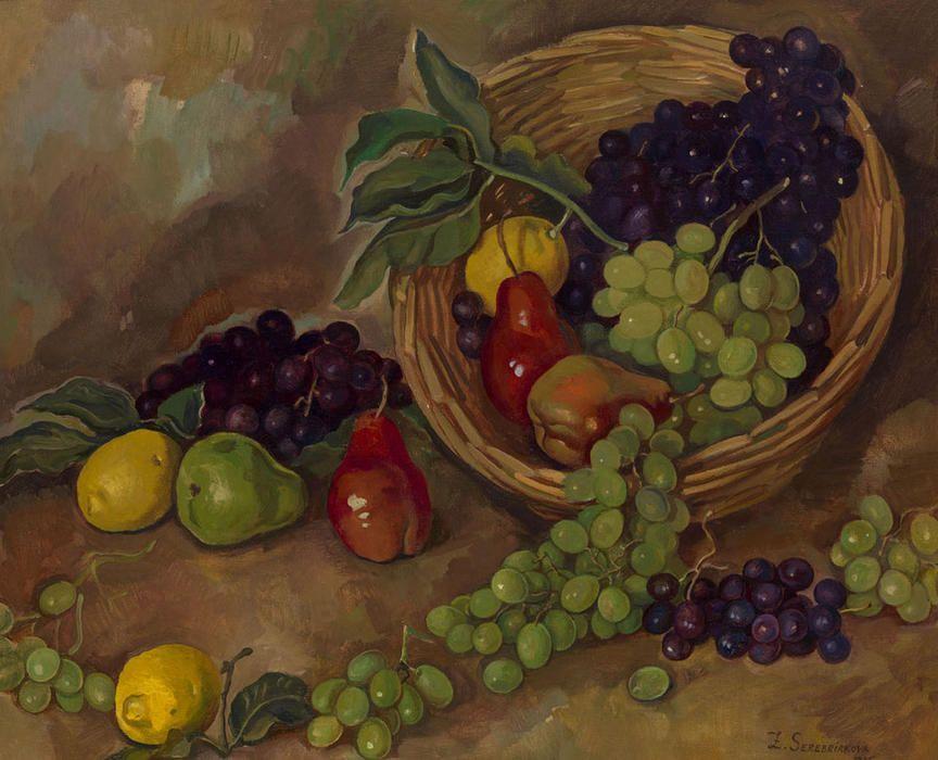 'pièce de fruits', 1935 de Zinaida Serebriakova (1884-1967, Ukraine)