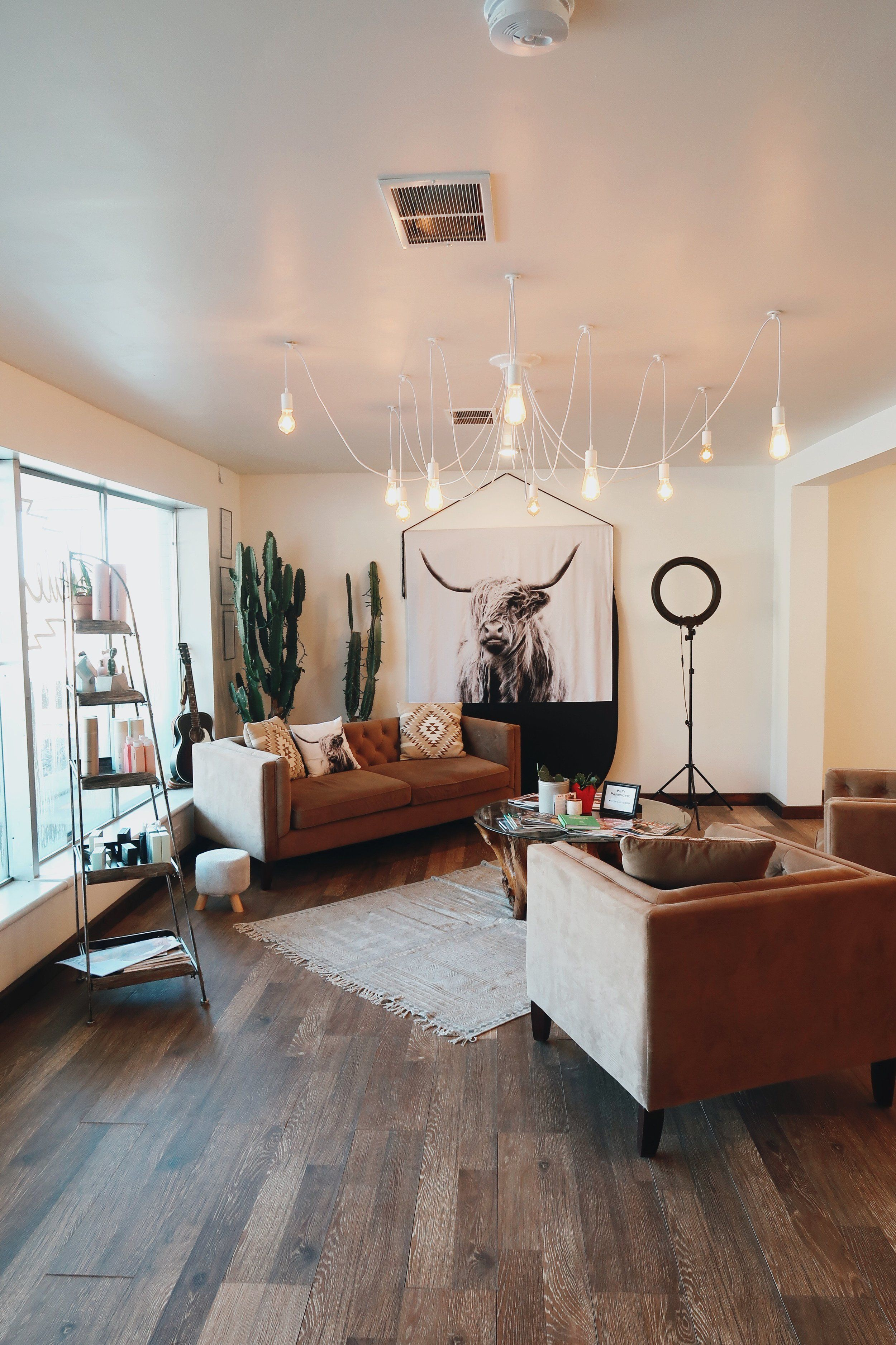 The White Cactus Salon Nashville Boho Hair Salon Style