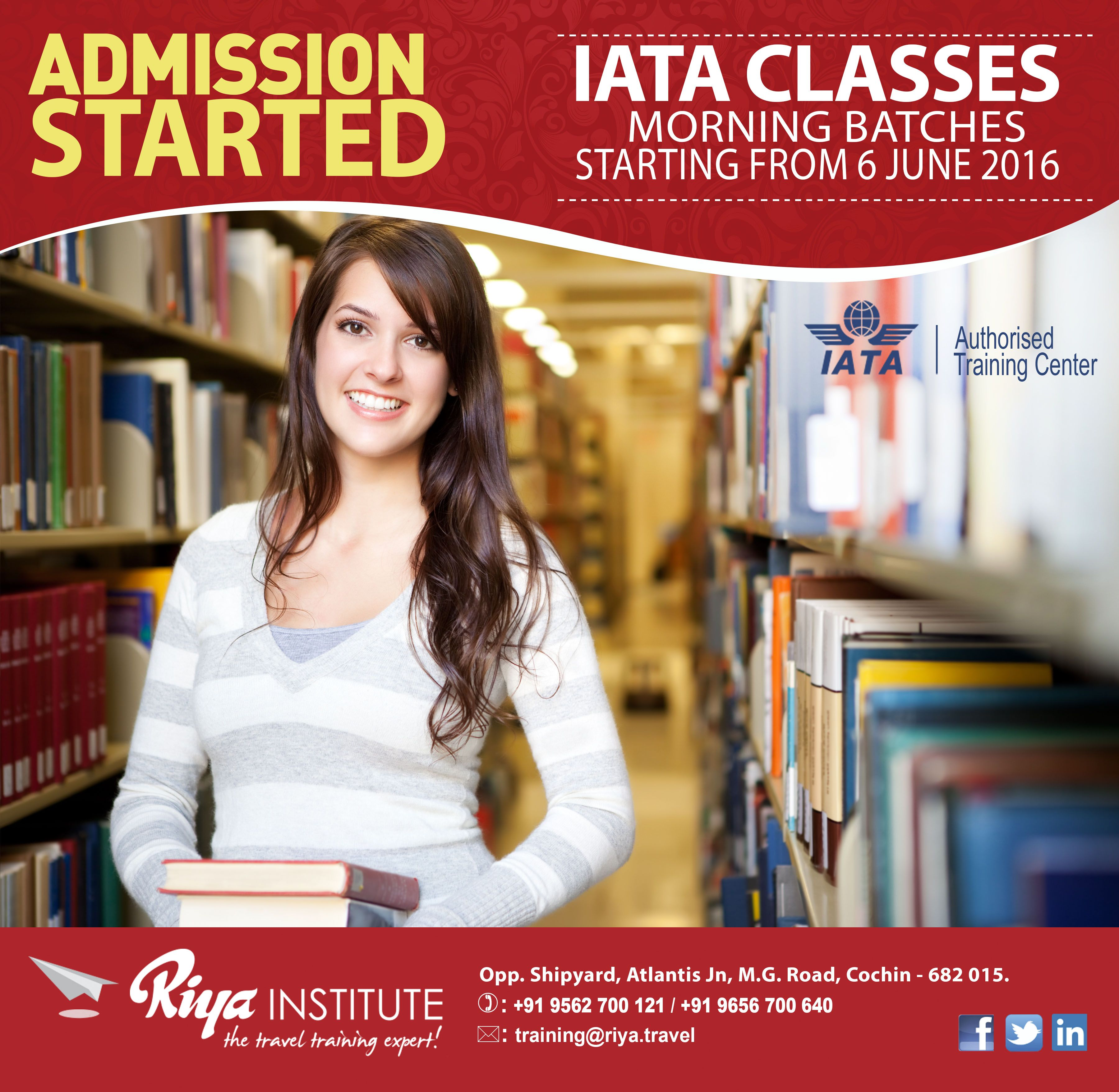 Admission Started!!! IATA classes morning batches