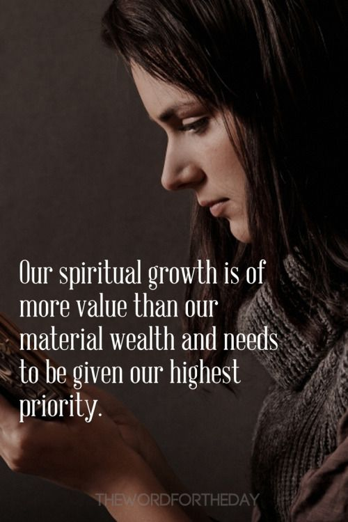 "2 Peter 3:18: ""But grow in grace, and in the knowledge of our Lord and Savior, Jesus Christ. God wants us to be spiritually mature and in order for that to happen we need spiritual milk-the word of God: ""Like newborn babies, crave pure spiritual..."