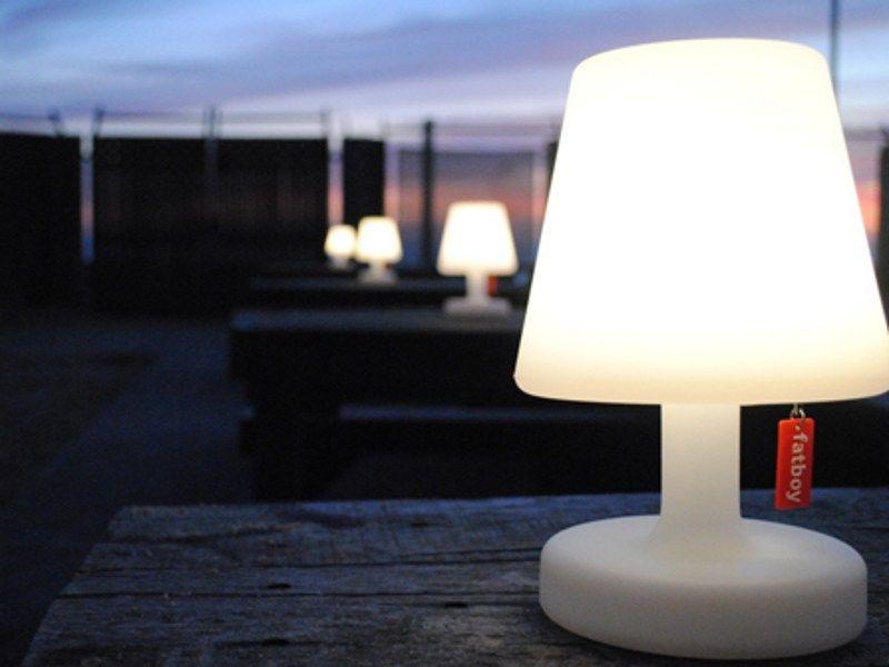Led Polyethylene Table Lamp Edison The Petit By Fatboy Italia Design Demakersvan Alex Bergman Outdoor Table Lamps Table Lamp Lamp