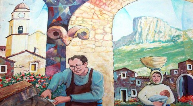 Murales Museo del Coltello Sardo - Arbus