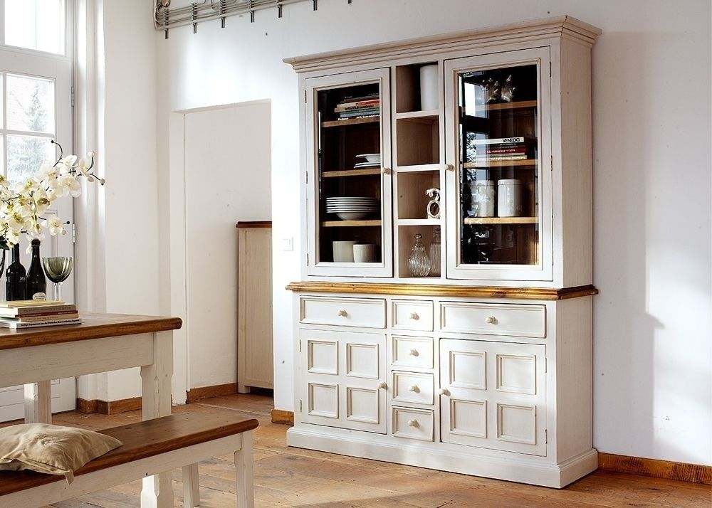 Schlafzimmerschrank Kiefer ~ Buffet beppo schrank kiefer massiv weiß buy now at